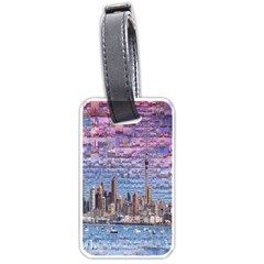 Auckland Travel Luggage Tags (one Side)  by Nexatart