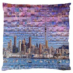Auckland Travel Large Cushion Case (two Sides)