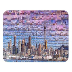 Auckland Travel Double Sided Flano Blanket (large)