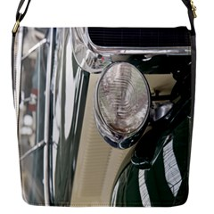 Auto Automotive Classic Spotlight Flap Messenger Bag (s) by Nexatart