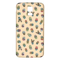 Sweet Succulents Samsung Galaxy S5 Back Case (white) by electrogiraffe