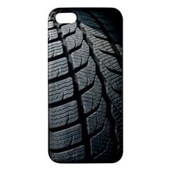 Auto Black Black And White Car Apple Iphone 5 Premium Hardshell Case