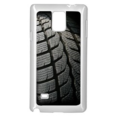 Auto Black Black And White Car Samsung Galaxy Note 4 Case (white)