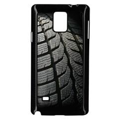 Auto Black Black And White Car Samsung Galaxy Note 4 Case (black)