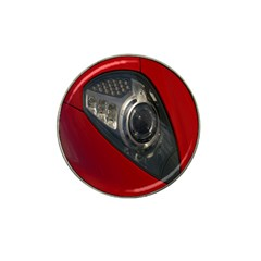 Auto Red Fast Sport Hat Clip Ball Marker (4 Pack) by Nexatart