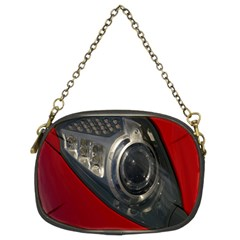Auto Red Fast Sport Chain Purses (two Sides)  by Nexatart
