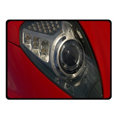 Auto Red Fast Sport Fleece Blanket (small)