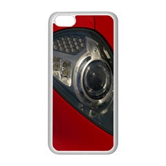 Auto Red Fast Sport Apple Iphone 5c Seamless Case (white)