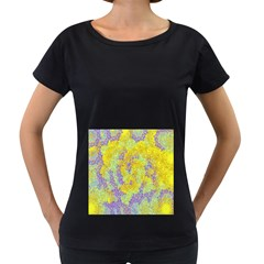 Backdrop Background Abstract Women s Loose Fit T Shirt (black)