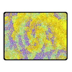 Backdrop Background Abstract Double Sided Fleece Blanket (small)