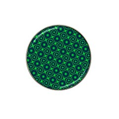 Plaid Green Light Hat Clip Ball Marker (10 Pack) by Alisyart