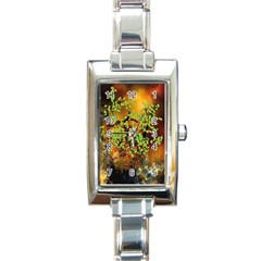 Backdrop Background Tree Abstract Rectangle Italian Charm Watch
