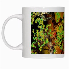 Backdrop Background Tree Abstract White Mugs