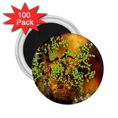 Backdrop Background Tree Abstract 2.25  Magnets (100 pack)