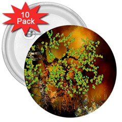 Backdrop Background Tree Abstract 3  Buttons (10 pack)
