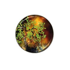 Backdrop Background Tree Abstract Hat Clip Ball Marker (10 pack)