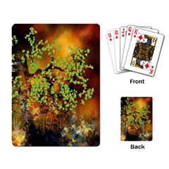 Backdrop Background Tree Abstract Playing Card