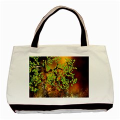 Backdrop Background Tree Abstract Basic Tote Bag