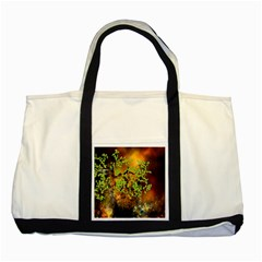 Backdrop Background Tree Abstract Two Tone Tote Bag
