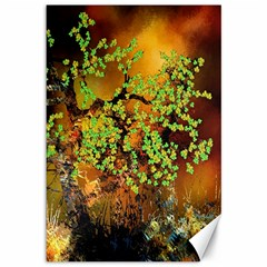 Backdrop Background Tree Abstract Canvas 12  x 18