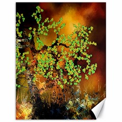 Backdrop Background Tree Abstract Canvas 18  x 24