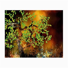 Backdrop Background Tree Abstract Small Glasses Cloth (2-Side)