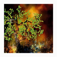 Backdrop Background Tree Abstract Medium Glasses Cloth (2-Side)