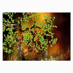 Backdrop Background Tree Abstract Large Glasses Cloth (2-Side)