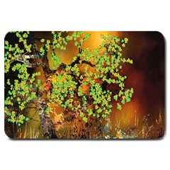 Backdrop Background Tree Abstract Large Doormat