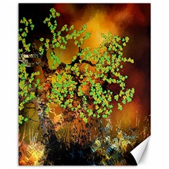 Backdrop Background Tree Abstract Canvas 11  x 14