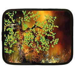 Backdrop Background Tree Abstract Netbook Case (Large)