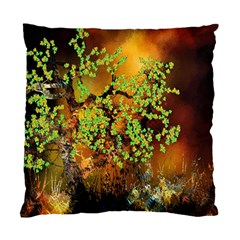 Backdrop Background Tree Abstract Standard Cushion Case (One Side)