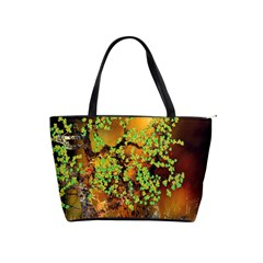 Backdrop Background Tree Abstract Shoulder Handbags