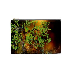 Backdrop Background Tree Abstract Cosmetic Bag (Medium)