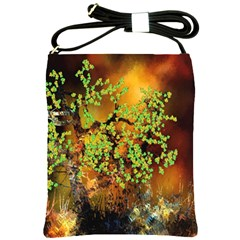 Backdrop Background Tree Abstract Shoulder Sling Bags