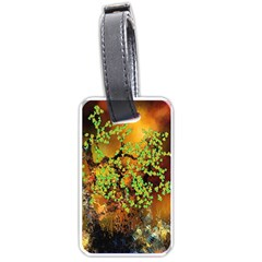 Backdrop Background Tree Abstract Luggage Tags (One Side)
