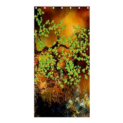 Backdrop Background Tree Abstract Shower Curtain 36  x 72  (Stall)