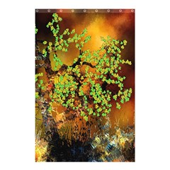 Backdrop Background Tree Abstract Shower Curtain 48  x 72  (Small)