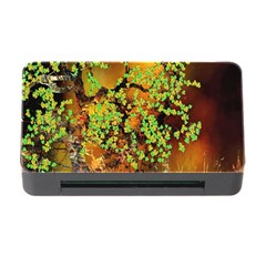 Backdrop Background Tree Abstract Memory Card Reader with CF