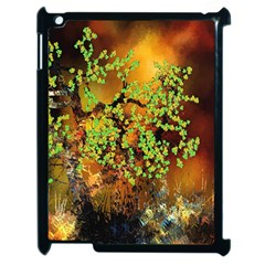 Backdrop Background Tree Abstract Apple iPad 2 Case (Black)