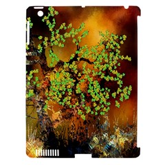 Backdrop Background Tree Abstract Apple iPad 3/4 Hardshell Case (Compatible with Smart Cover)