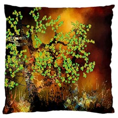 Backdrop Background Tree Abstract Large Cushion Case (Two Sides)