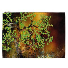 Backdrop Background Tree Abstract Cosmetic Bag (XXL)
