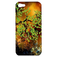 Backdrop Background Tree Abstract Apple iPhone 5 Hardshell Case