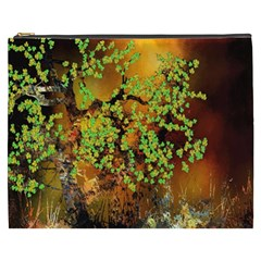 Backdrop Background Tree Abstract Cosmetic Bag (XXXL)