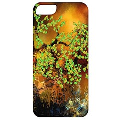 Backdrop Background Tree Abstract Apple iPhone 5 Classic Hardshell Case