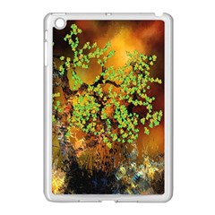 Backdrop Background Tree Abstract Apple iPad Mini Case (White)