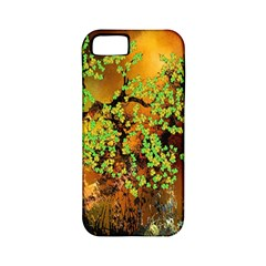 Backdrop Background Tree Abstract Apple iPhone 5 Classic Hardshell Case (PC+Silicone)