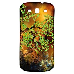 Backdrop Background Tree Abstract Samsung Galaxy S3 S III Classic Hardshell Back Case