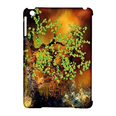 Backdrop Background Tree Abstract Apple iPad Mini Hardshell Case (Compatible with Smart Cover)
